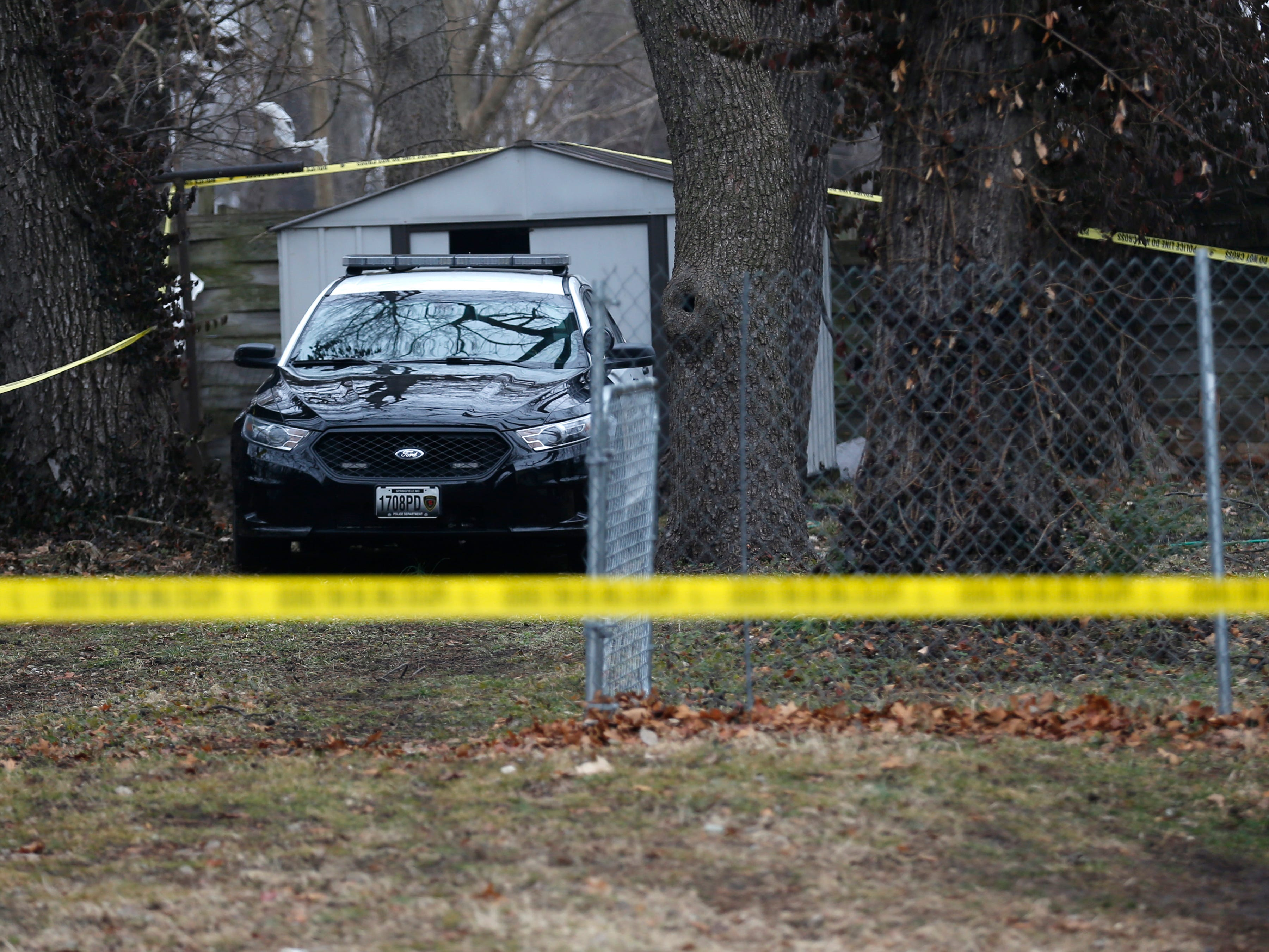 Springfield police are investigating a homicide at a home in the 900 block of West Locust Street on Tuesday, January 15, 2019.