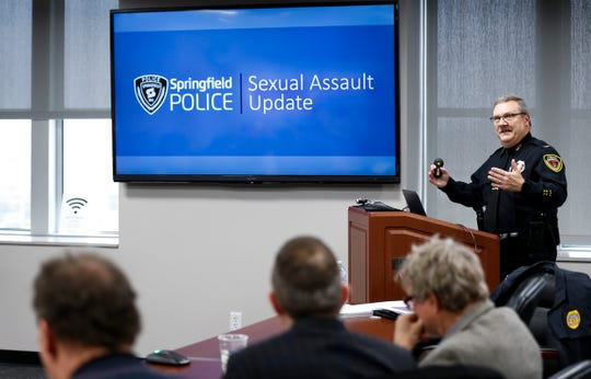 Springfield Police Chief Paul Williams updated City Council last year about the steps and improvements the department has taken in the way it handles sexual assault investigations at the Busch Municipal Building.
