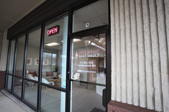 Breathe Salt Vault opened this past week in Springfield.