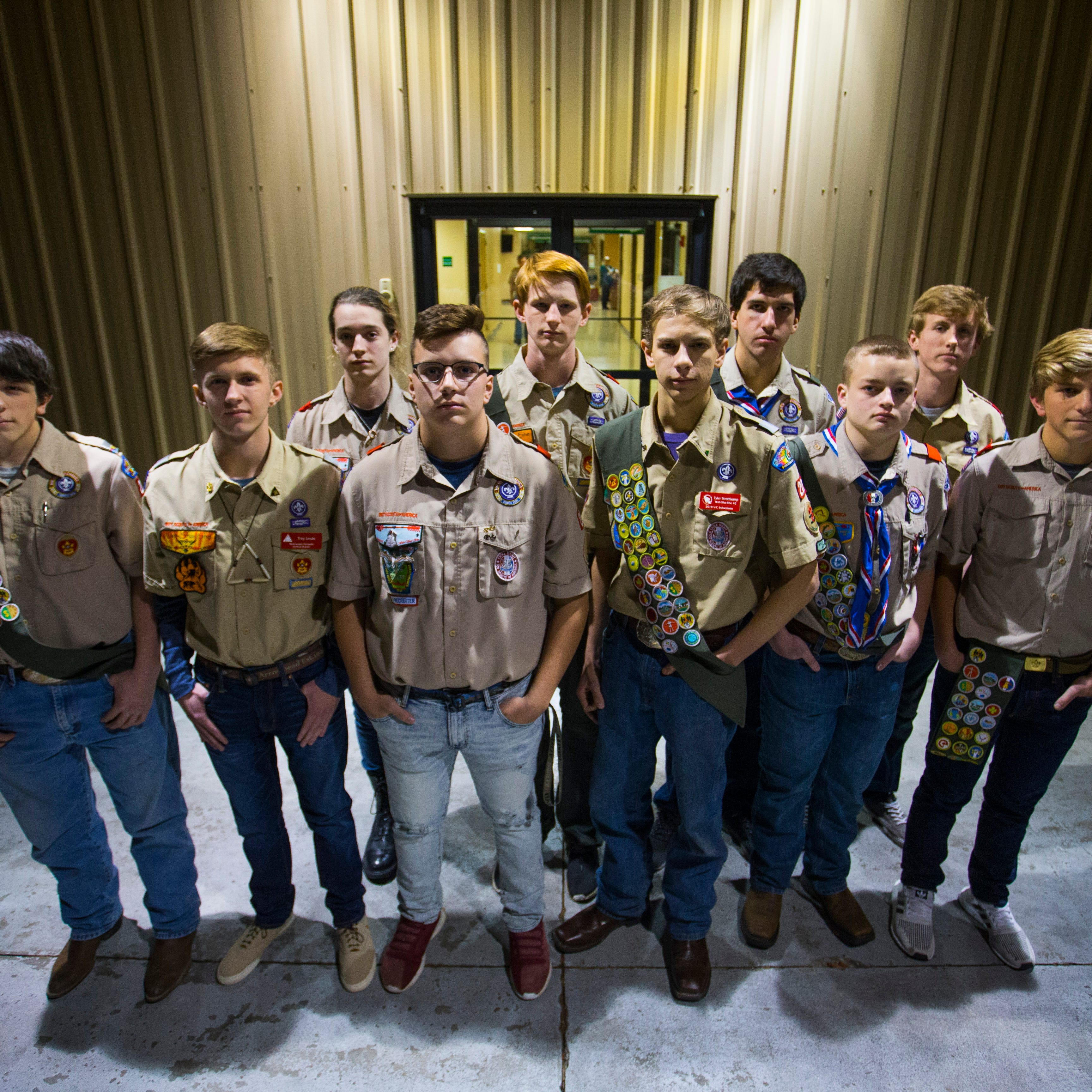 In a single year, Ozark Boy Scouts troop had 10 achieve Eagle rank — a record