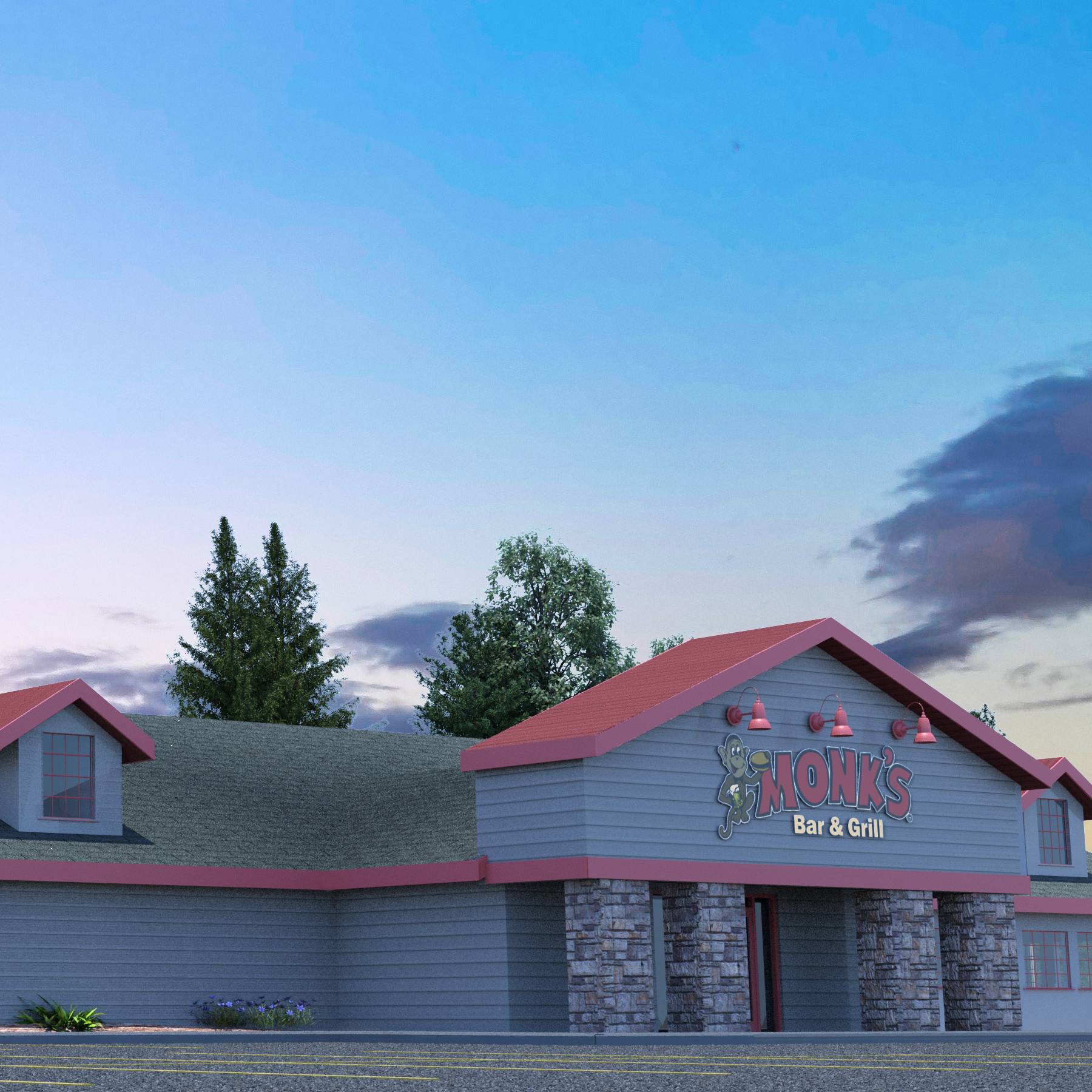 Plans for Monk's Bar & Grill in Plover begin to take shape; opening set for May 1