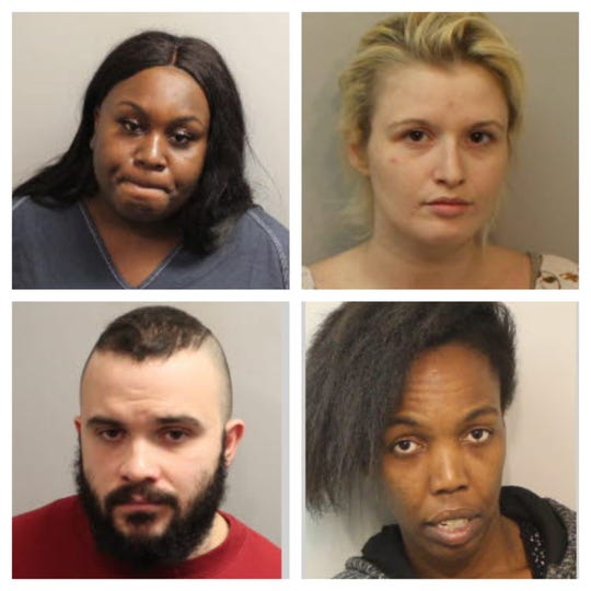 (From top left to bottom right): La'Darious Bodison, Katherine Laflower, Kristopher Mata and Lakisha Williams