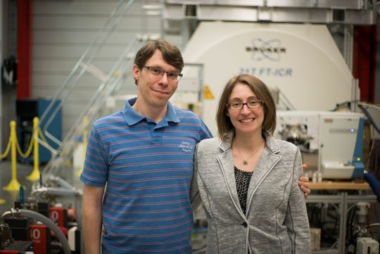 Julia and Don Smith both work at the National High Magnetic Field Laboratory.