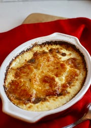 Easy Parmesan Potatoes Au Gratin has just three ingredients.