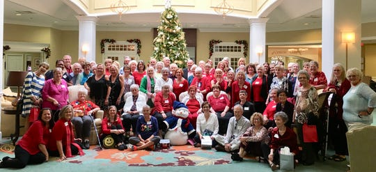 Friends After Diagnosis, a support organization for women with cancer, recently held its holiday luncheon at Indian River Estates in Vero Beach.