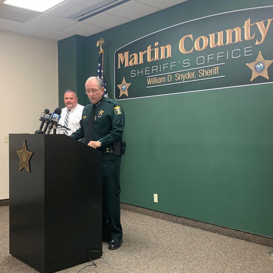 Martin County deputy fired after substances in narcotics arrests turn out not to be drugs