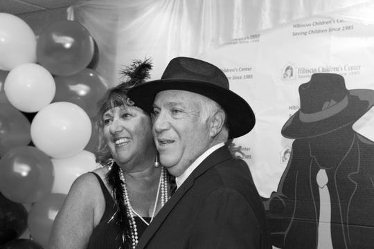 Lorraine and Andy Popky at Hibiscus Children's Center's All That Jazz Casino Night at Mariner Sands Country Club in Stuart.