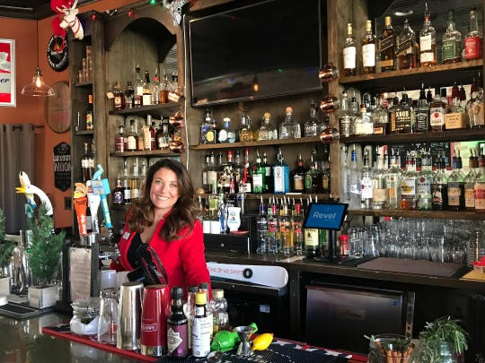 Amanda Frechette, co-owner of the Bungalow Bar.