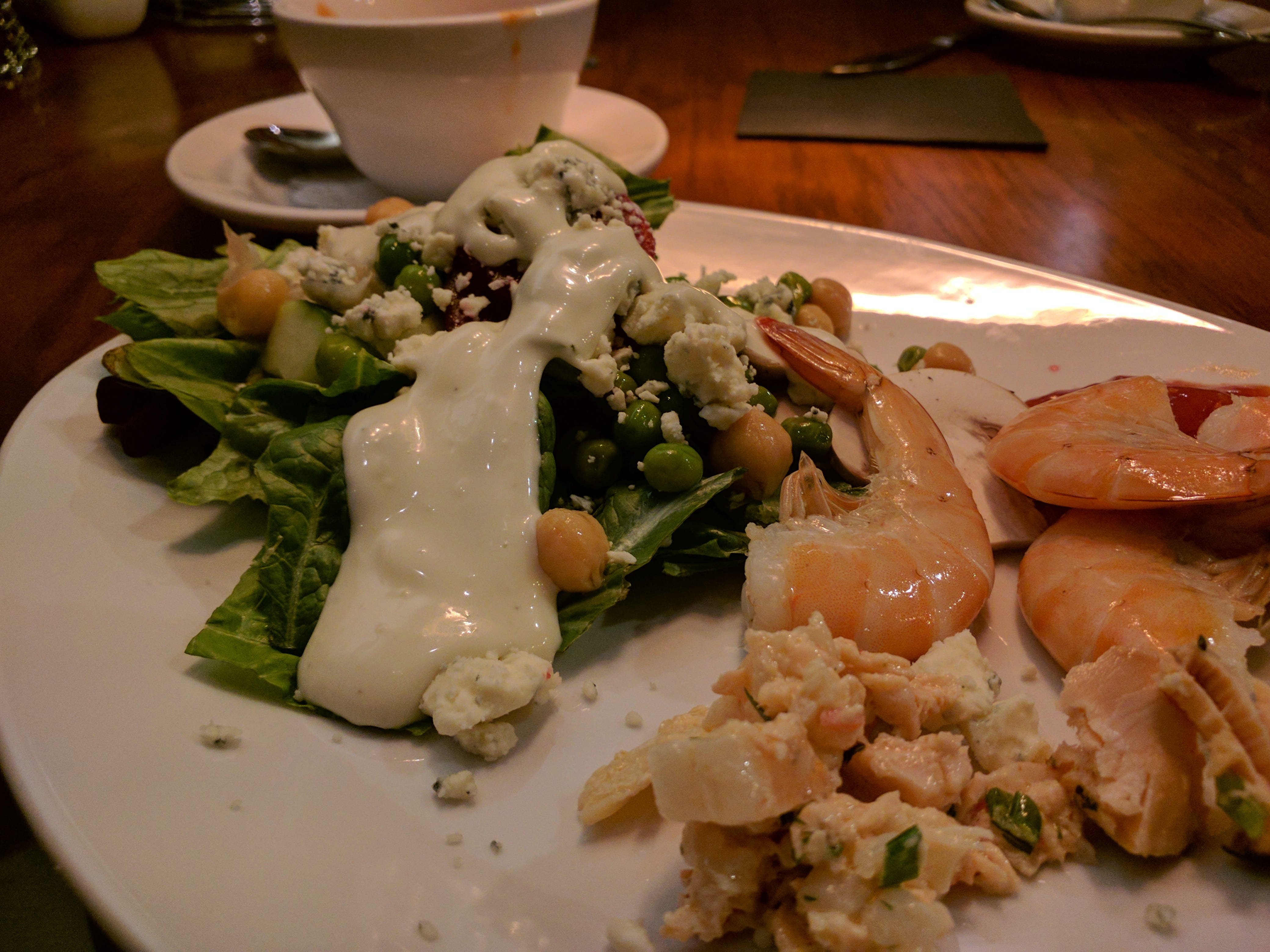 A sampling From Green Marlins salad and seafood bar. Green Marlin is located on U.S. 1 in Vero Beach.
