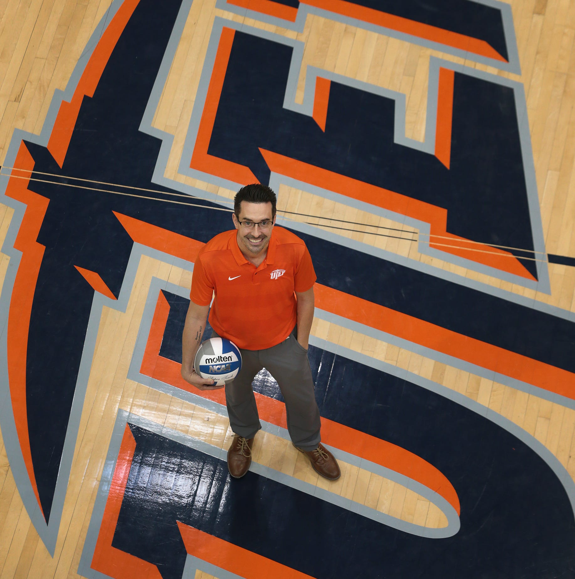 UTEP's new volleyball coach Ben Wallis' roots in El Paso and New Mexico run deep