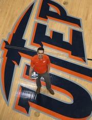 UTEP head volleyball coach Ben Wallis is ready to start the 2019 volleyball season.