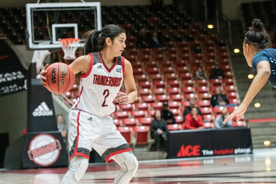 Former Burges basketball player Rebecca Cardenas has had a solid career at Southern Utah University.