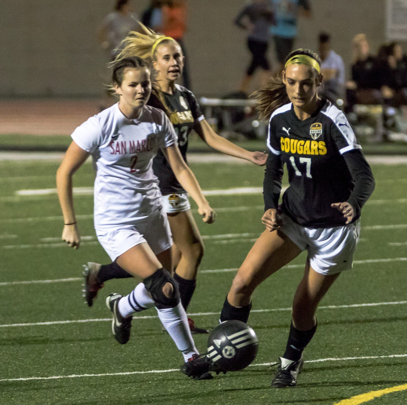 Defending champions Ventura, Fillmore looking likely to continue girls soccer runs