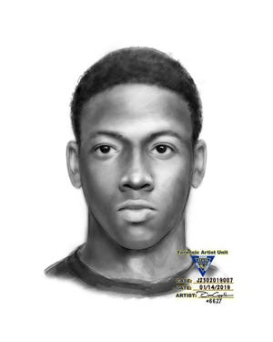 New Jersey State Police are searching for the suspect in this sketch wanted in connection to an alleged armed robbery in Upper Deerfield.