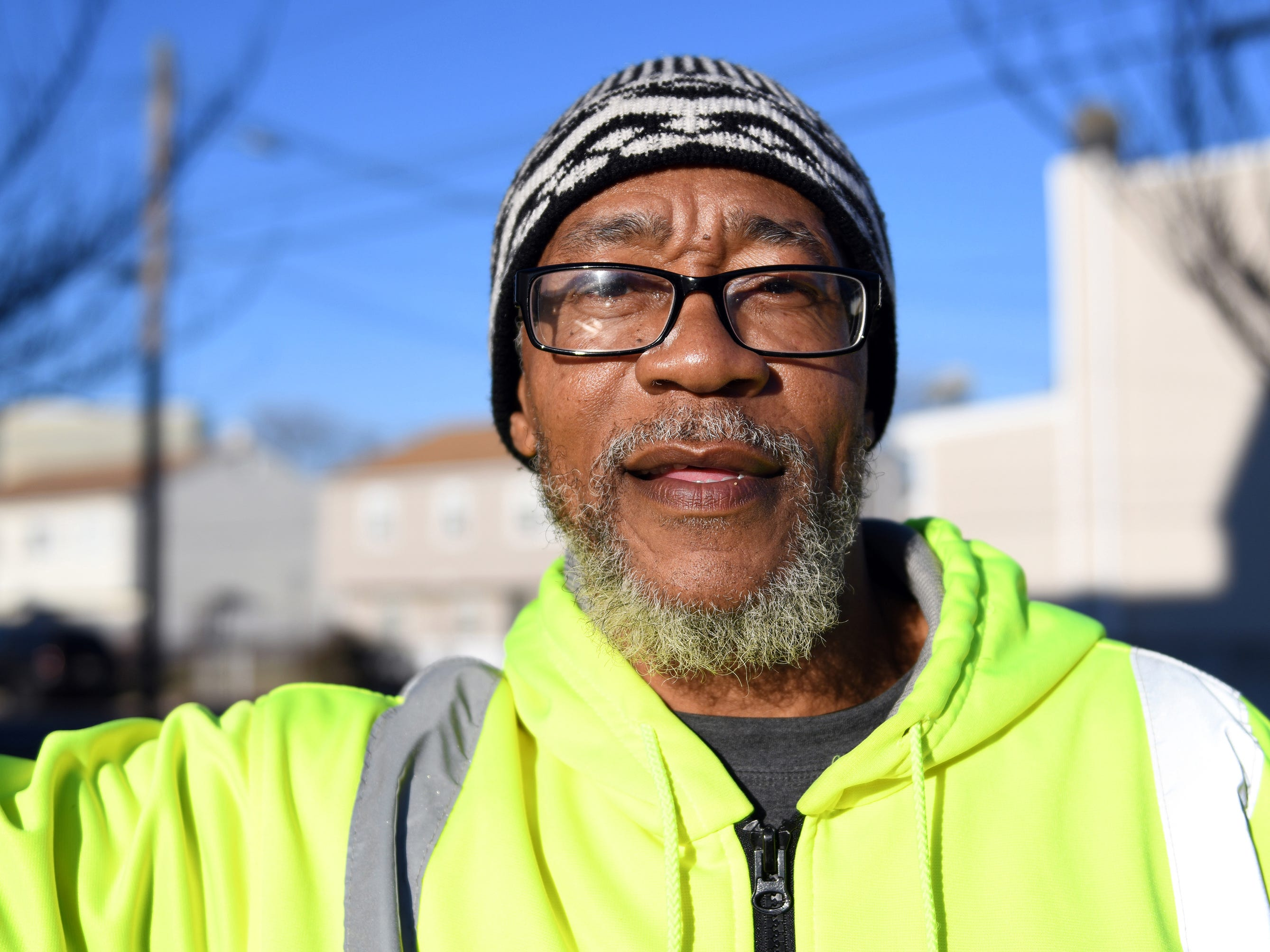 Mr. Safeeullah Muhammad, 55, has lived on Dr. Martin Luther King Jr. Boulevard in Atlantic City for 17 years.