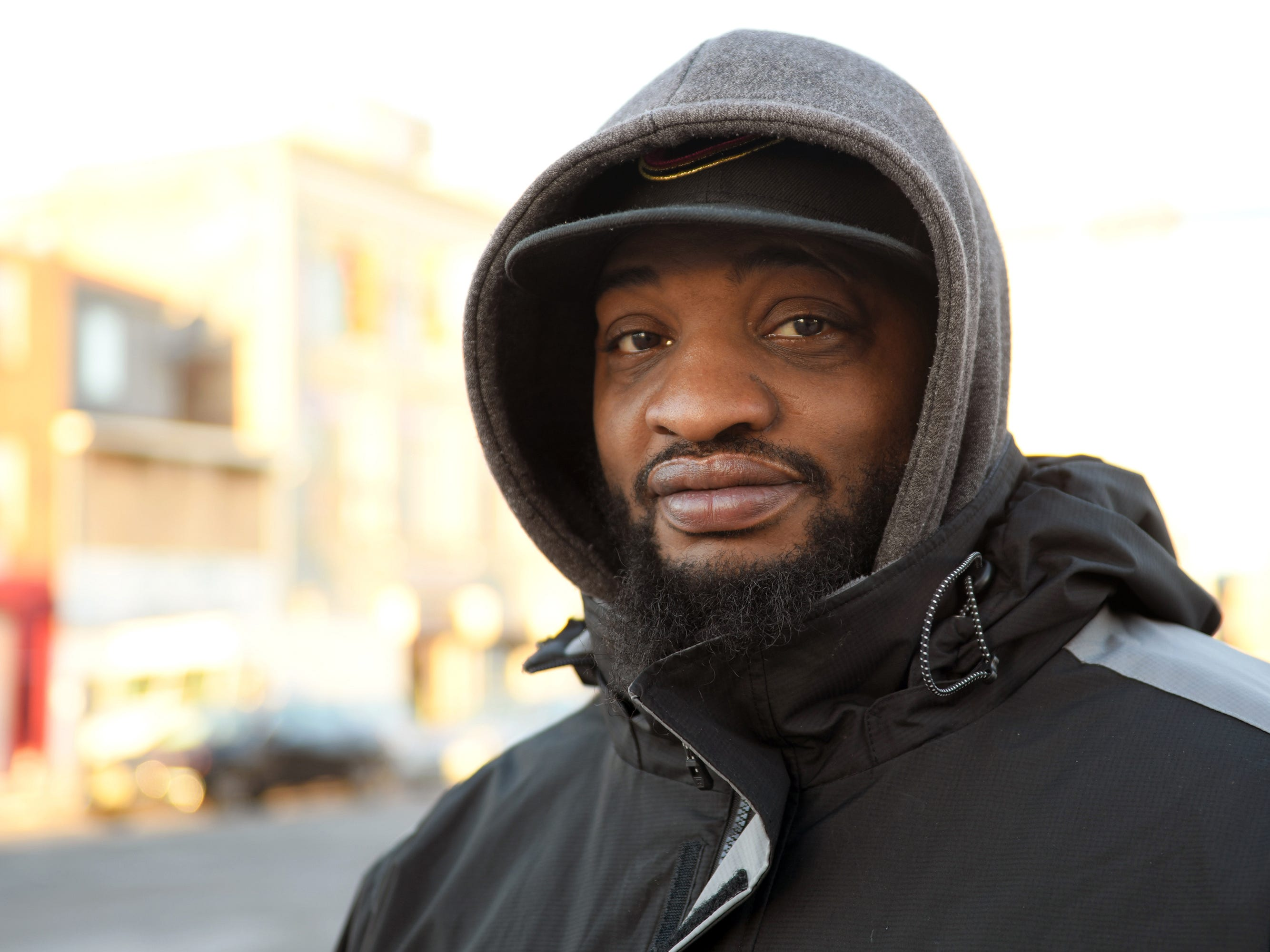 William Branch, 34, lives a block off Dr. Martin Luther King Jr. Boulevard in Atlantic City and works at the Center for African Studies at Rutgers University. Branch thinks Dr. Martin Luther King Jr. would have mixed emotions about the state of America today.