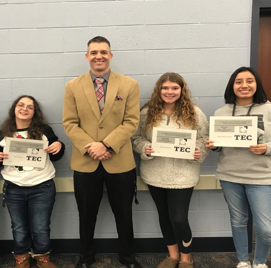 CCTEC announces Students of the Month