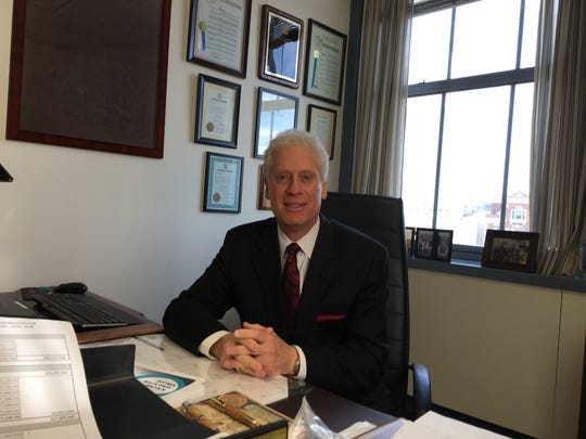 Westchester County Legislator Mike Kaplowitz pictured in his office on Jan. 15, 2019. Kaplowitz said he won't run for re-election, ending a 22-year career on the county Board of Legislators.