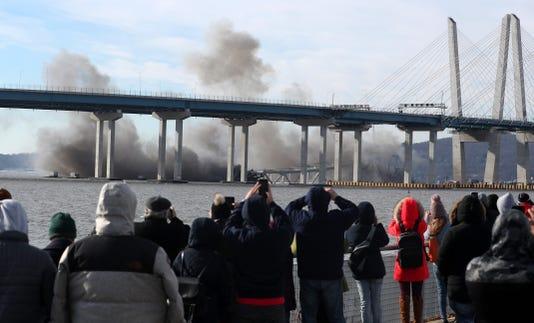 Tappan Zee Bridge Implosion