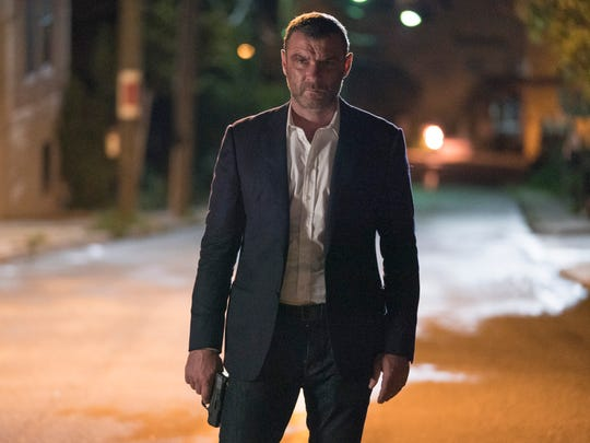 """Liev Schreiber as Ray Donovan in """"Ray Donovan"""" is scene on Nyack's Main Street during season 6. The series finale, Jan. 13, featured a shot of The Tappan Zee Bridge."""