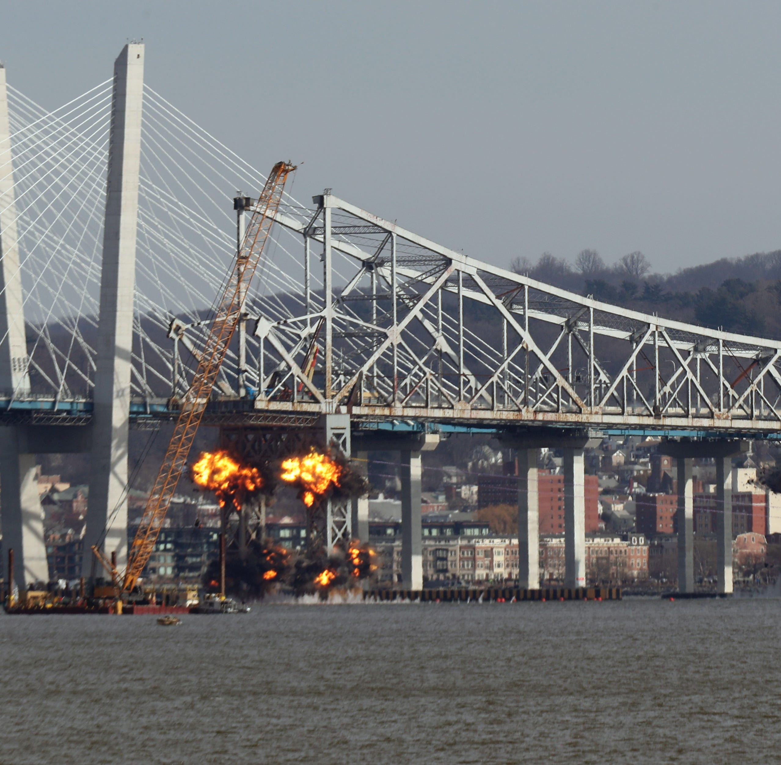Tappan Zee Bridge demolition: How they got that shot