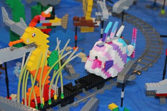 Maritime Aquarium at Norwalk hosts a big Lego weekend, Jan. 26, 27.
