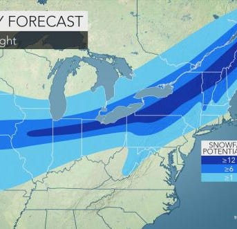 2 snowstorms could hit the Lower Hudson Valley