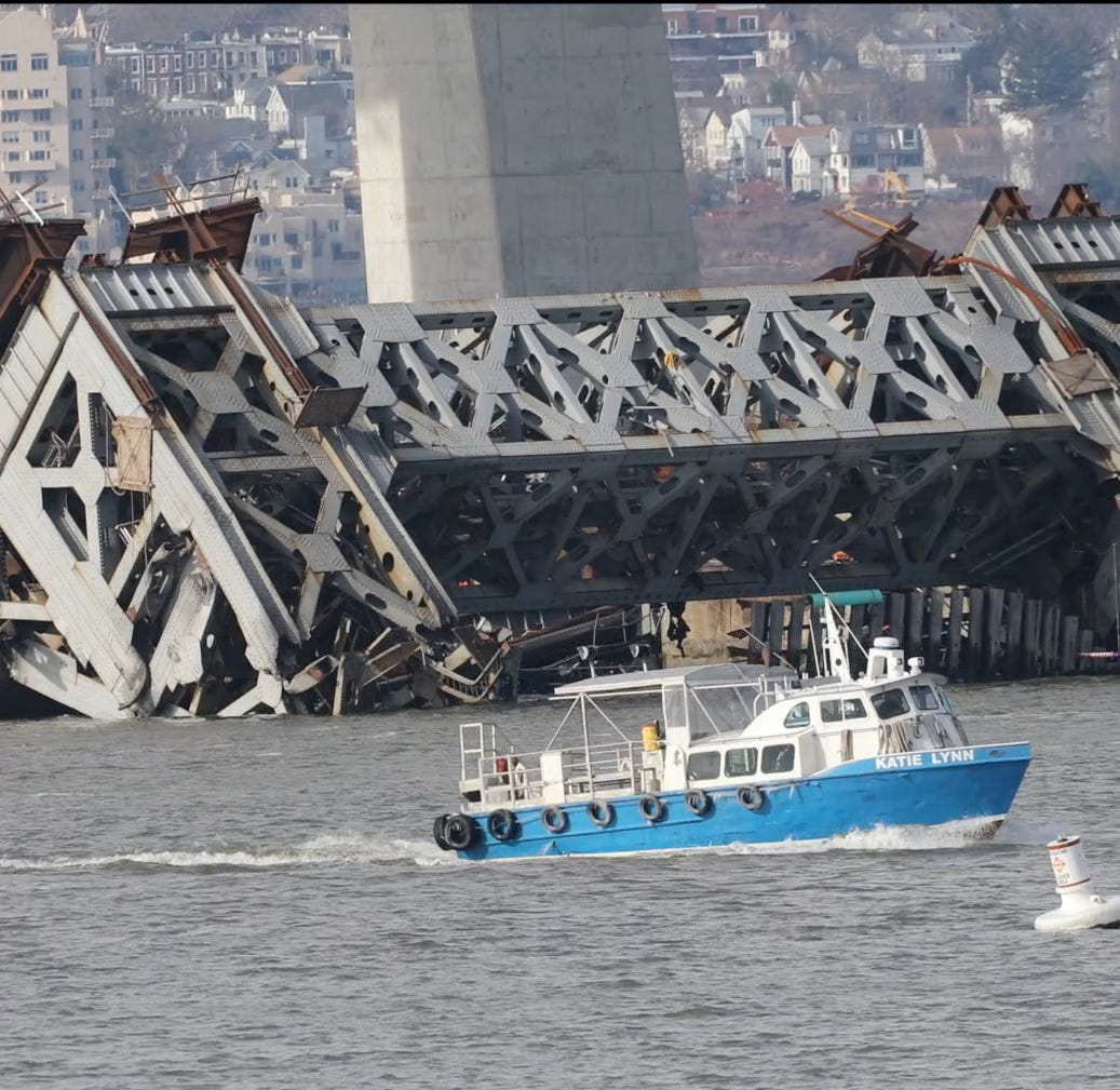 What happens to the rest of the Tappan Zee Bridge and its successor?
