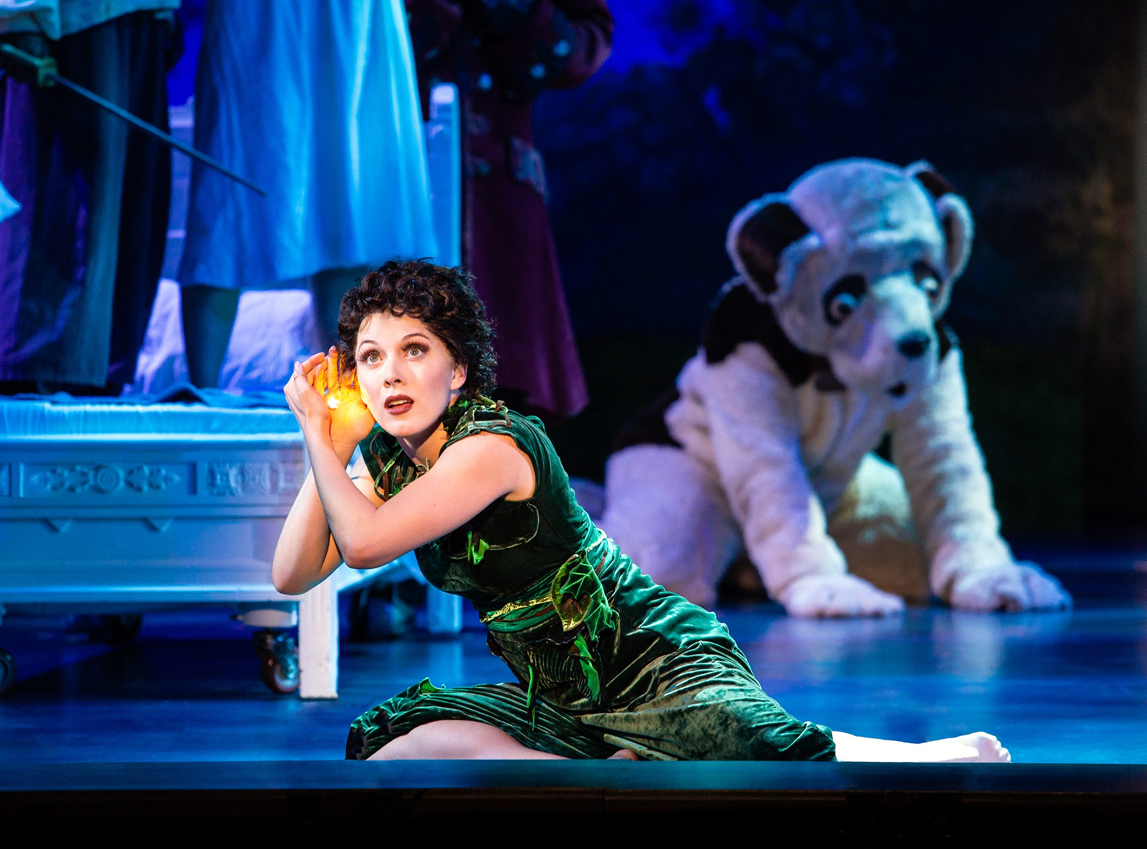 """Melody Rose in """"Finding Neverland,"""" which runs Feb. 7-10 at the Playhouse on Rodney Square"""