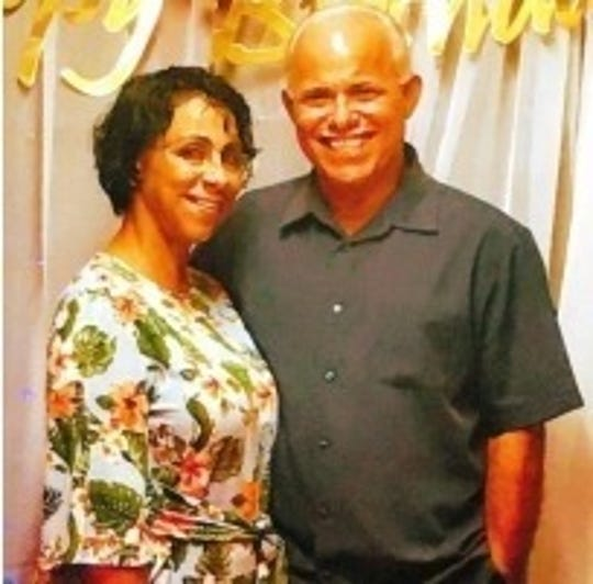 Jose Rivera and his wife