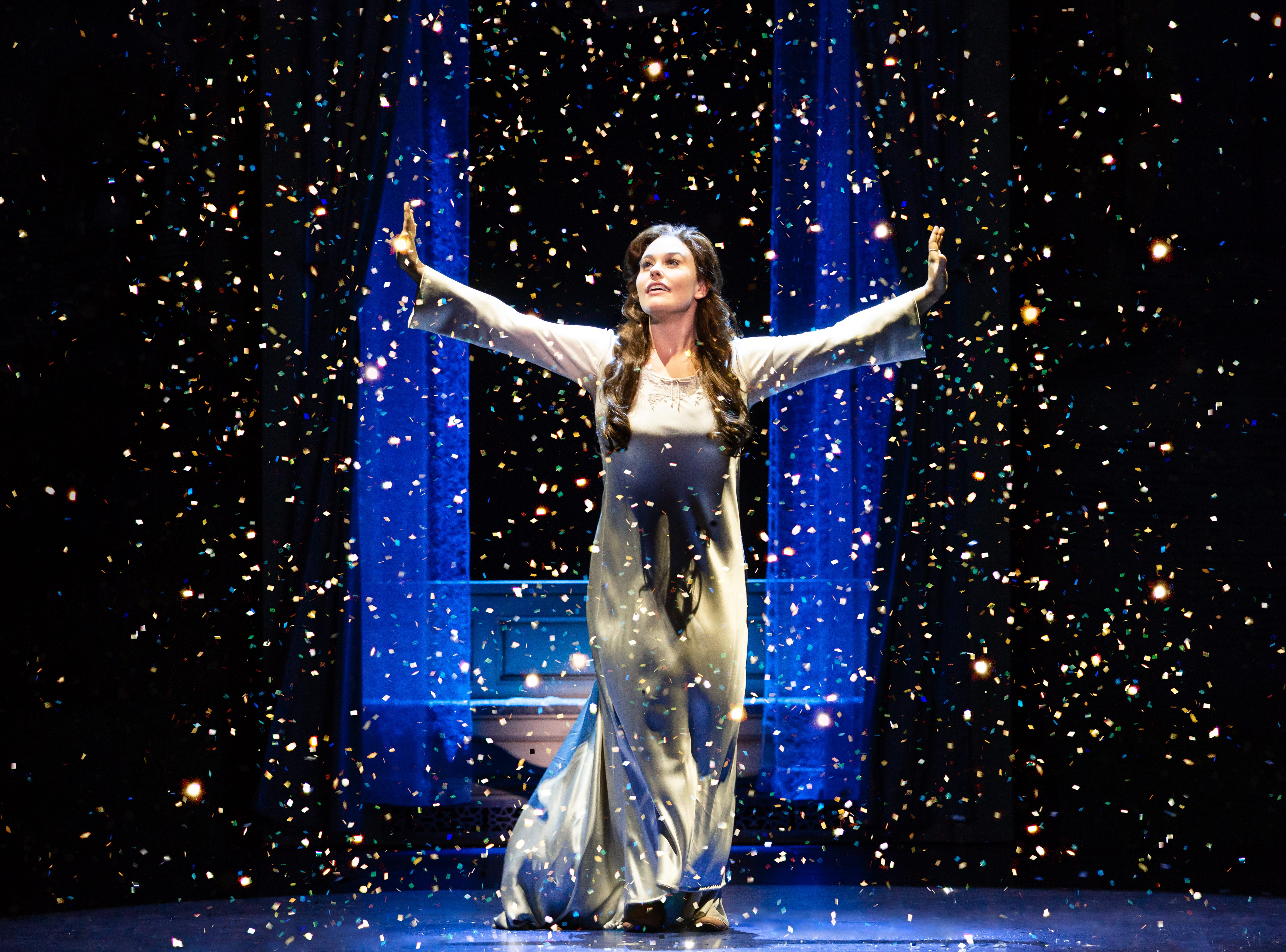 "Ruby Gibbs in ""Finding Neverland,"" which runs at the Playhouse on Rodney Square Feb. 7-10."