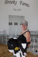 Zoey Brooks returned to Brooks Farms after graduation and serves as the operation's chief operating officer, and handles human resources and communications responsibilities. She also served as the project manager for the farm's new calf facility.