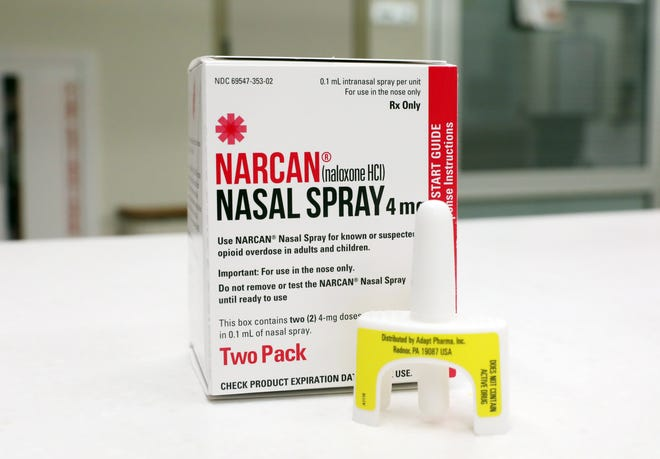 NARCAN is a drug used to revive people overdosing on opiates.