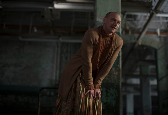 "Patricia is one of 20 different personalities of Kevin Crumb that James McAvoy portrays in ""Glass."""