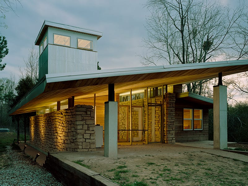 Rural Studio, Newbern, Alabama: Since Auburn University's Rural Studio was first created in 1993, it has taught over 1,000 architecture students how to design and build all sorts of buildings. Located in rural Alabama, the studio serves a need in the community for affordable, elegant and durable structures.