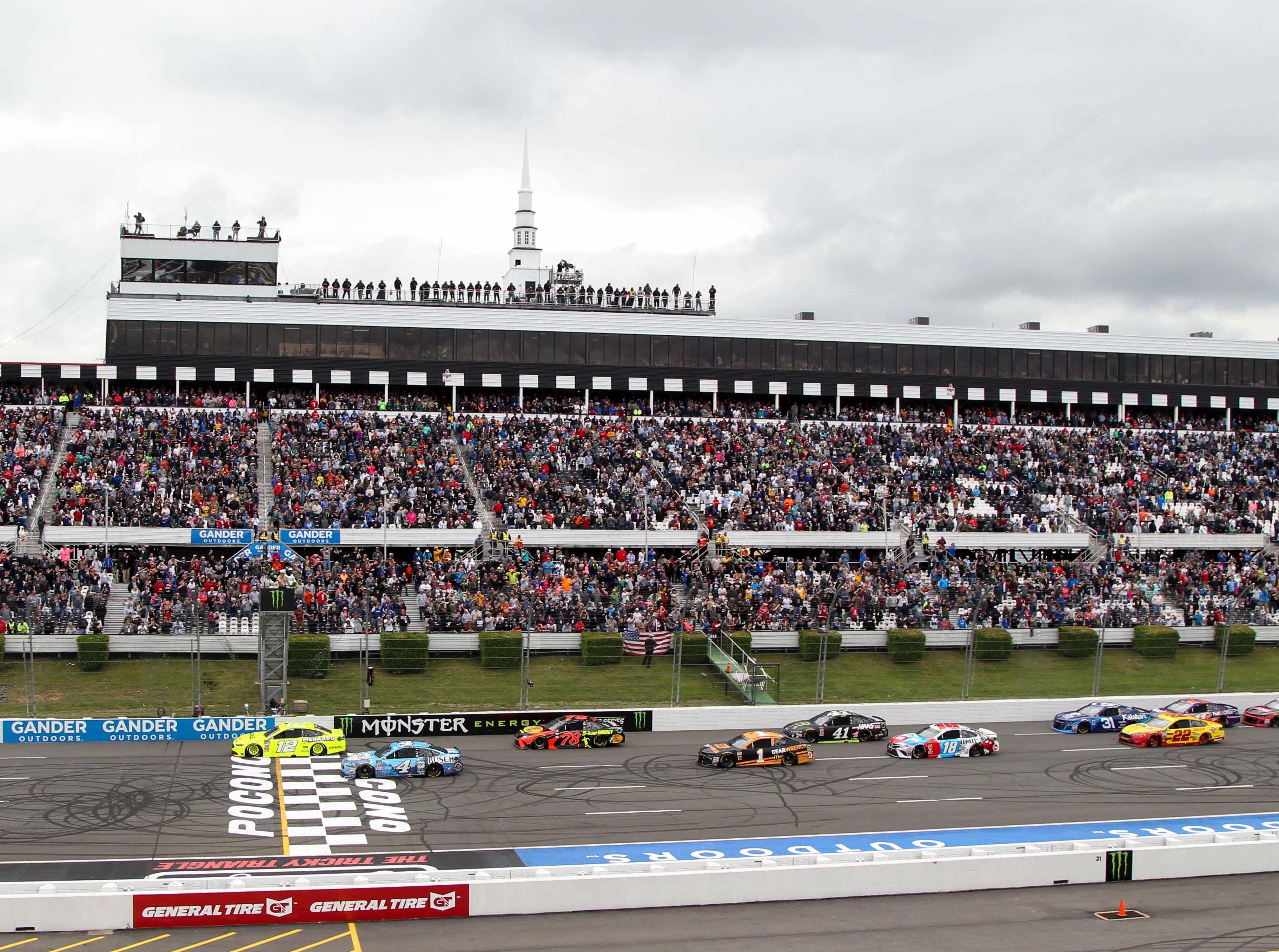June 2: Pocono 400 at Pocono Raceway (2 p.m., FS1).