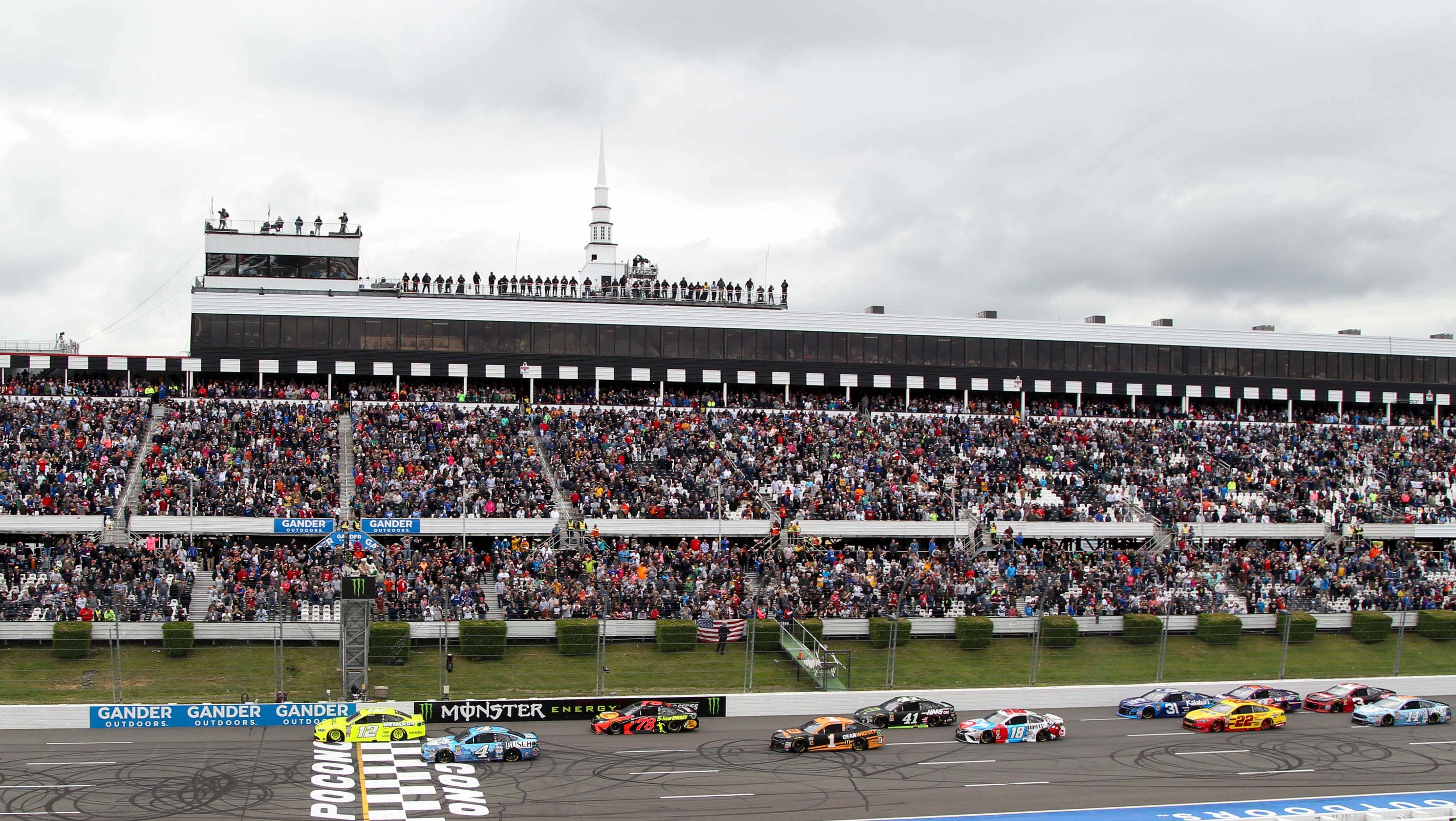 NASCAR: Pocono 400 schedule, starting lineup, TV channel