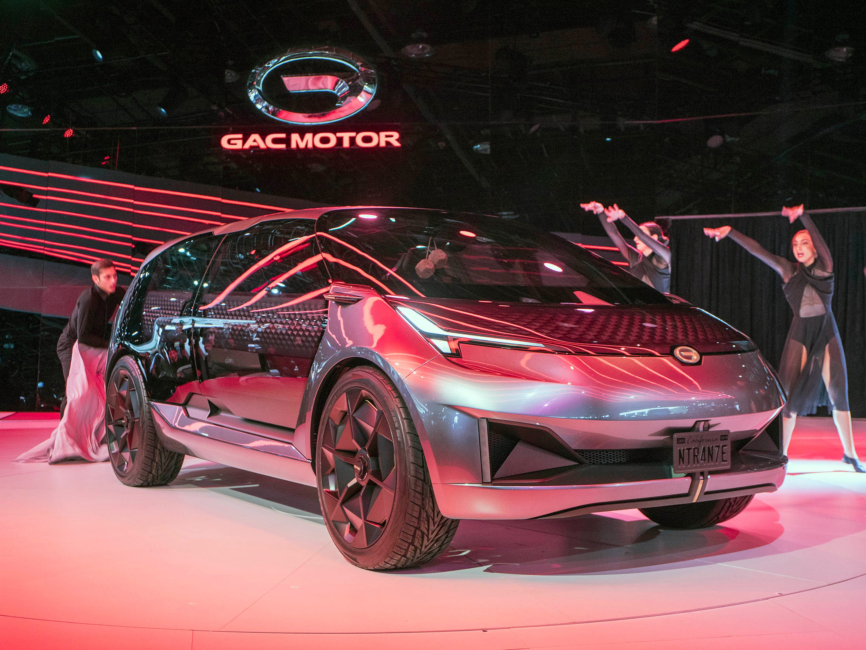GAC Motor unveils the Entranze concept.