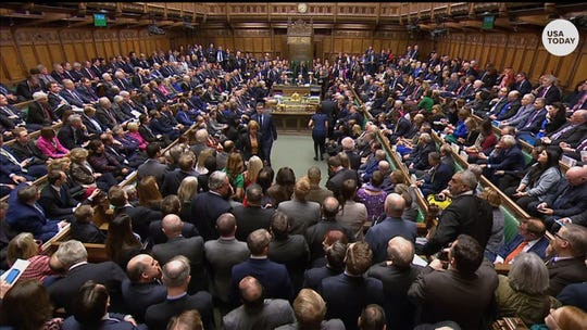 British lawmakers have rejected Prime Minister Theresa May's Brexit deal by a huge margin, plunging UK politics into crisis 10 weeks before the country is due to leave the European Union.