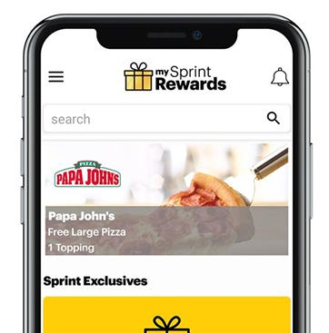 My Sprint Rewards app