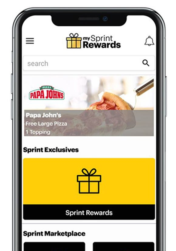 My Sprint Rewards app