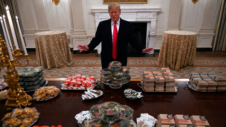 Trump Mcdonalds