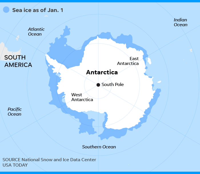 Climate change: Antarctic ice melting is accelerating