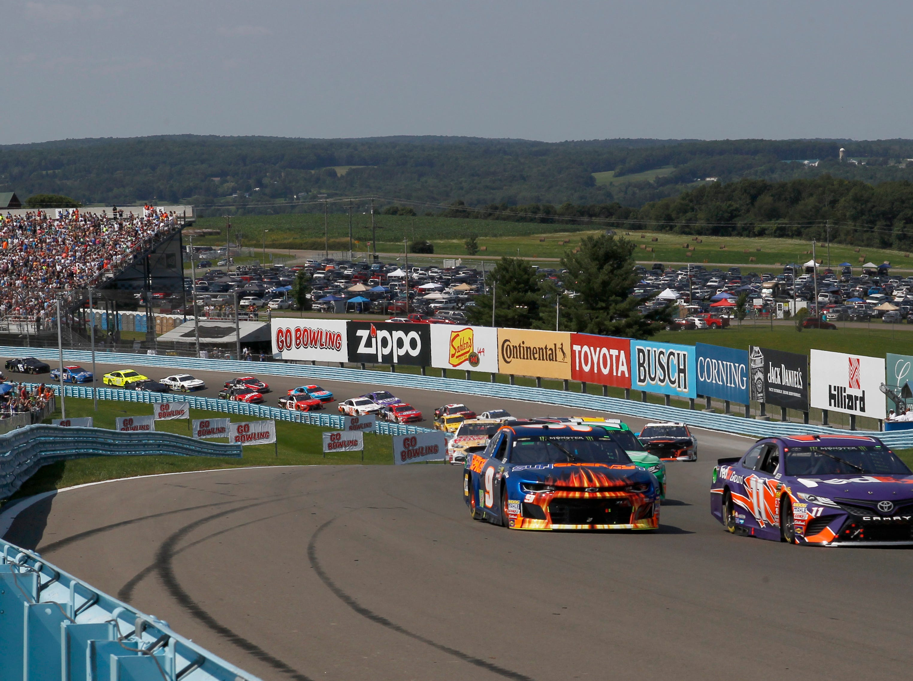 Aug. 4: GoBowling at The Glen at Watkins Glen International (3 p.m., NBCSN).
