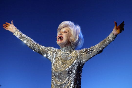 Actress Carol Channing, performing in Hollywood in 2004, has died.