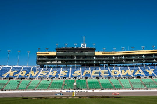 May 11: Kansas spring race at Kansas Speedway (7:30 p.m., FS1).