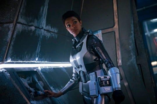 """Sonequa Martin-Green as Burnham in """"Star Trek: Discovery."""""""