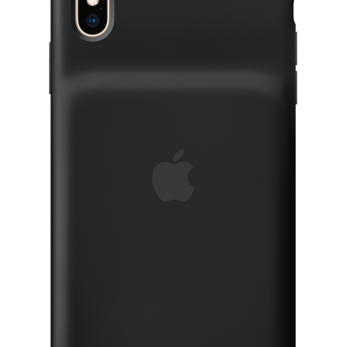 Apple's new iPhone  XS Smart Battery Case. The rear hump houses the battery.