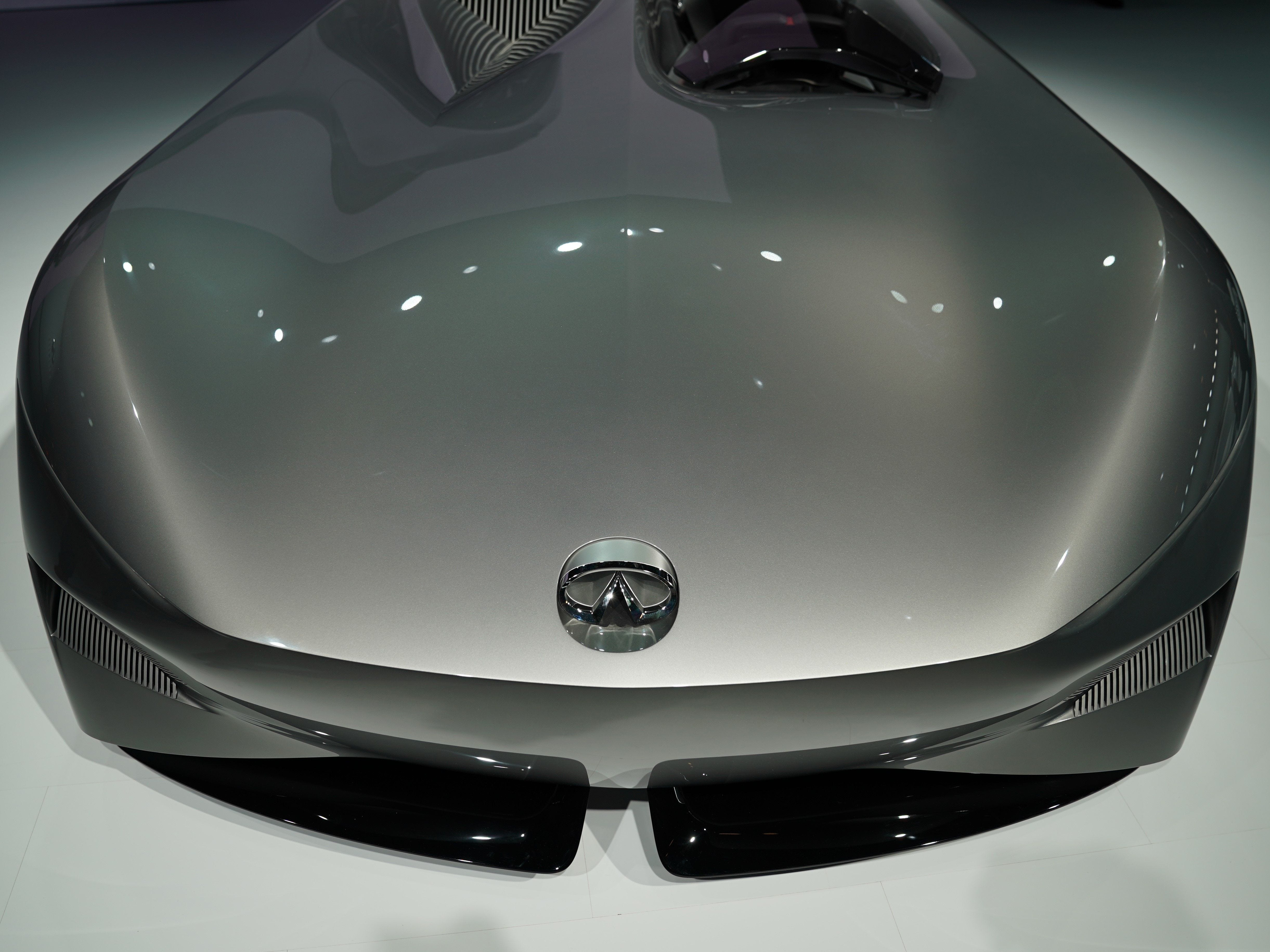 The Infiniti Prototype 10 concept car.