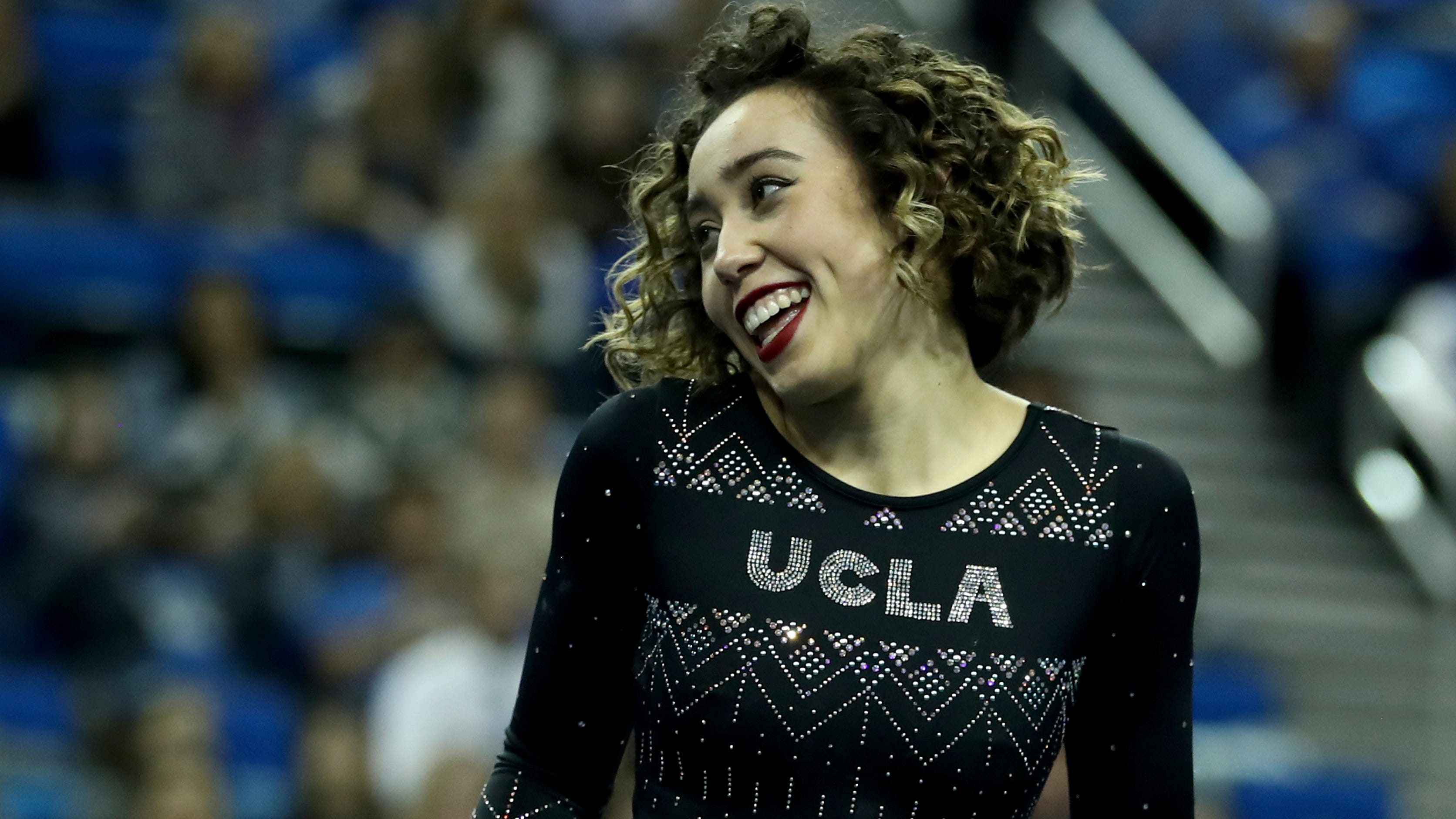 Katelyn Ohashi of UCLA.
